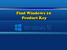 Find Windows 10 Product Key Youtube