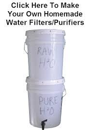 homemade water purifier. Emergency Water Filter Bucket Purifier Homemade P