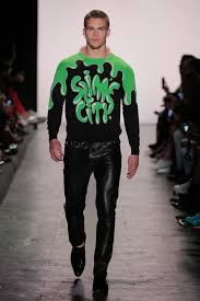 amedeo the interview sep 16 slime city a trip to jeremy scott s s s 2017 nyfw presentation