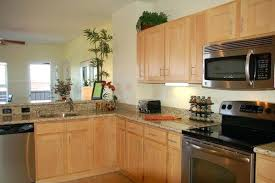 light oak cabinets with granite light colored oak cabinets with granite gallery natural maple cabinets with