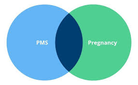 Typical Menstrual Cycle Chart Pms Symptoms Vs Pregnancy Symptoms 7 Comparisons