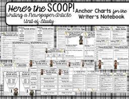 A Newspaper Article Newspaper Article Writing Unit Heres The Scoop By The Literacy Loft