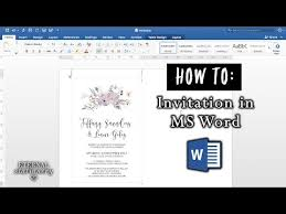 how to make a report card on microsoft word how to make an invitation in microsoft word diy wedding
