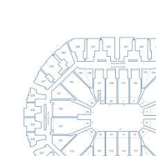 Oracle Arena Interactive Basketball Seating Chart