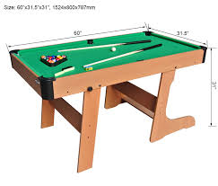 sy legs make the billiard table stand steady this model has three diffe sizes it can provide you with more options the size is suitable for home