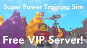 Free strucid vip server (2020) *read description*. Super Power Training Simulator Vip Servers 07 2021