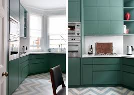 uk designer mark smith used gray and white zigzag marbled linoleum flooring from london