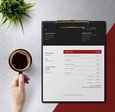 Modern Invoice Modern Invoice Freebie Dealing With Style Freenvoices Com