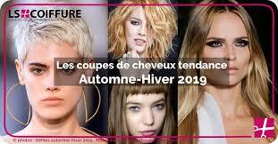 Tendance Coiffure Automne Hiver 2019