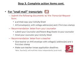 Transcript Request Process The Transcript Request Process Applies To ...