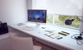 unique computer desk design. Everything Is Made High Quality Material And Designed Specifically To Cool Workspace That Can Beautify Your Workspace. Look At Modern IMac Computer Table Unique Desk Design S