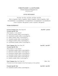 Resume Templates 2018 Cool Ladders 28 Resume Guide Free Resume Templates Ladders Career