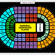 New Coliseum Uniondale Seating Chart