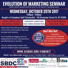 evolution of marketing seminar 2017 plus small business saay roundtable discussion