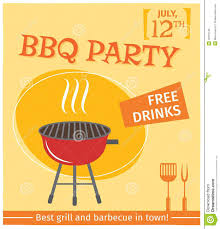 Bbq Poster Bbq Grill Poster Stock Vector Illustration Of Outdoor 40781749