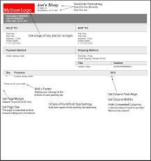 Free Packing Slip Template Sample Packing Slip Ninjaturtletechrepairsco 20