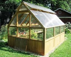 ideas about Greenhouse Plans on Pinterest   Greenhouses  Diy    DIY Greenhouse Plans and Greenhouse Kits  Lexan Polycarbonate  Cedar Wood Framed Greenhouse