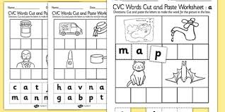 Some of the worksheets for this concept are fractions, fractions, equivalent fractions visuals s1, fractions packet, x 2, unit rates with fractions, mega fun fractions, cut paste. 24 Free Cvc Words Cut And Paste Worksheets Image Inspirations Jaimie Bleck