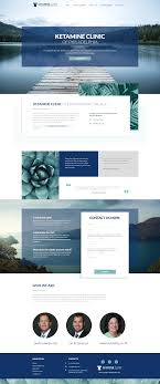 Web Application Homepage Design Modern Medical Website Design Website Design Layout