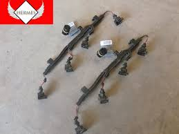 2003 BMW 745Li E65 E66 Engine Fuel Injector Wiring Harness Pair1 2003 bmw 745li e65 e66 engine fuel injector wiring harness pair on e65 fuel wiring harness