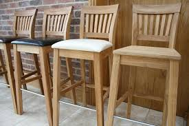 oak bar stools with back amazing kitchen tall breakfast interior design 4