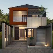 50 model desain rumah minimalis 2 lantai desainrumahnya com