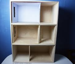 make your own barbie furniture. How To Build A Front Opening Dolls House Or Dollhouse Bookcase Make Your Own Barbie Furniture
