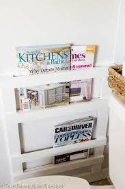 Homemade Magazine Holder Custom 32 DIY Bathroom Ideas That Will Make Your Bathroom Look Awesome