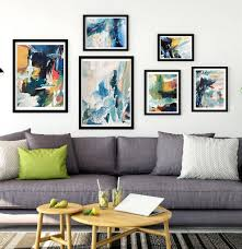 abstract art print set gallery wall five prints on gallery wall art prints with abstract art print set gallery wall five prints by omar obaid