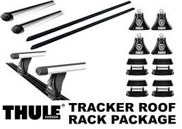 thule rapid tracker roof rack package 430r foot pack rapid aero load bars and view larger image