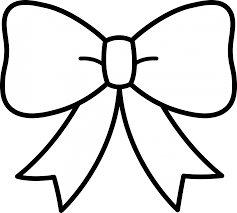 Small Picture Cheerleading Bow ColoringBowPrintable Coloring Pages Free Download