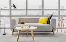 sofas for office. Exellent For Mark Round Sofa With Wood Legs In Sofas For Office