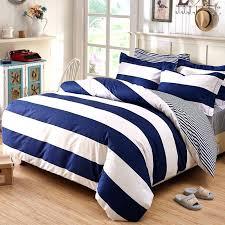 vibrant creative striped comforter sets blue white bedding gorgeous on seerer and stripe cotton