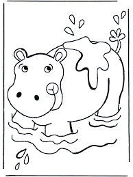 Small Picture baby hippopotamus Colouring Pages page 2 Its National