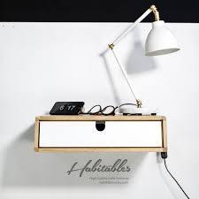Hervorragend Mid Century Bedside Table White Target Modern Decor