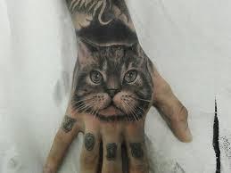 Tetování Ruka Kočka Tetováníblogcz