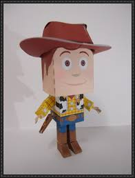 Papercraft - Sheriff Woody