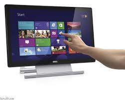 picture of dell s2240t 22 led lcd touchscreen monitor
