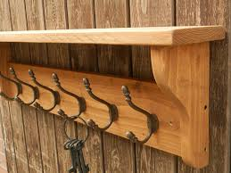 Woodland Coat Rack Custom Reclaimed Look Wood Hat And Coat Rack With Shelf Rustic