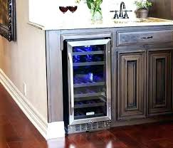 charming countertop wine fridge countertop best countertop wine refrigerator