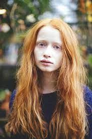 Pale Redhead British Teen