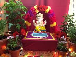 home decor decoration for ganesh festival at home decoration
