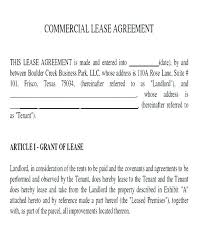 Free Printable Commercial Lease Agreement Beautiful New Vacant Land ...
