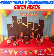 Un Anniversaire de Super-Héros! (Déco / Sweet Table / Kit à imprimer ...