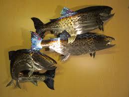 outdoor metal wall art fish small on fish wall art metal with wall art metal fish images lobster and fish