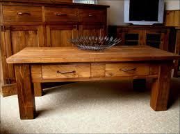 furniture farmhouse coffee table wayfair tables rustic trunk barn door end beachwood