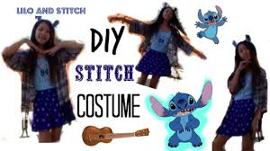 diy stitch costume for