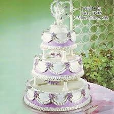3 Tier Round Shape Cake With Stand Cake Park
