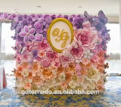 Giant Paper Flower Backdrop Large Paper Flowers Backdrop Giant Paper Flowers Backdrop Paper