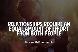 True Dat! on Pinterest | Relationship Effort Quotes, Relationship ... via Relatably.com